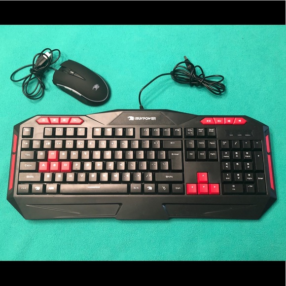 888329ea5a0 iBUYPOWER Other | Gaming Keyboard Mouse | Poshmark